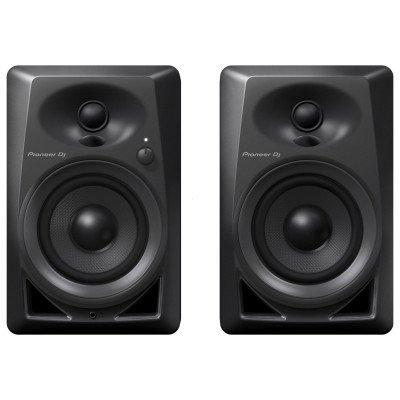 """Coppia Monitor Pioneer DJ DM-40 4"""" Nero"""