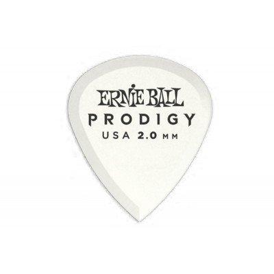 Ernie Ball Plettri Prodigy White Mini (Busta da 6)