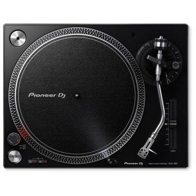 Pioneer PLX 500 Giradischi a Trazione Diretta per DJ Nero