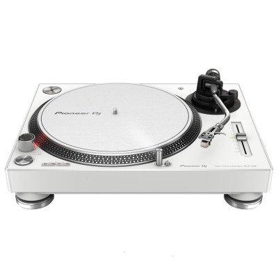 Pioneer PLX 500 W Giradischi a Trazione Diretta per DJ Bianco
