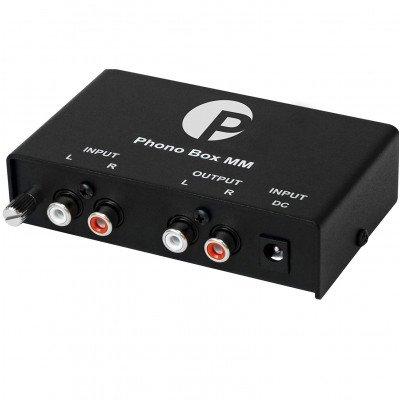 Hi-Fi Pro-Ject  Phono Box  MM BK per Giradischi Hi-fi
