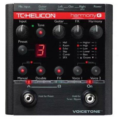 Processore voce TC Helicon Voicetone Harmony G