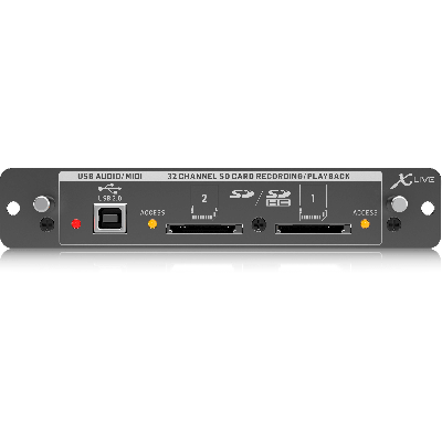 Scheda espansione X-Live per mixer Behringer X-32