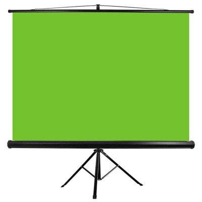 "Fondale  greenbox 150"" Con stand tripode 300X220 cm"