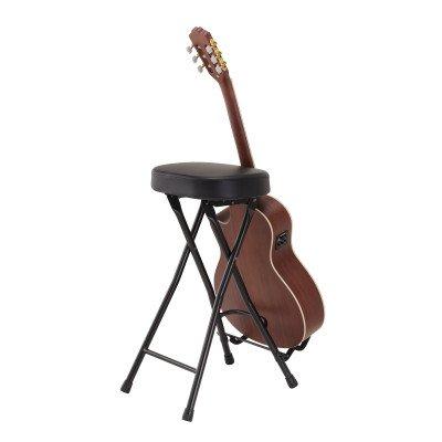 Soundsation GSGT-500 sgabello con reggi chitarra