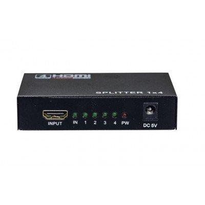 Splitter HDMI 1 In x 4 Out 1080p