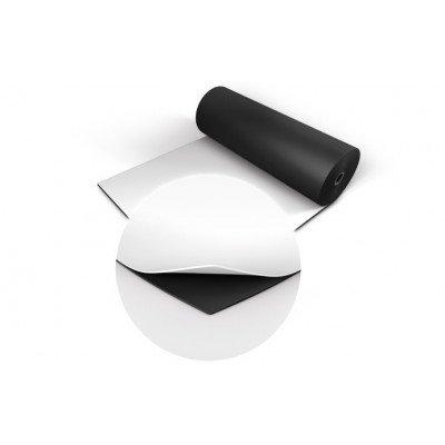Tappeto Linoleum Pavimento doppio colore Nero / Bianco Metro Lineare ( 2 Metri quadrati)