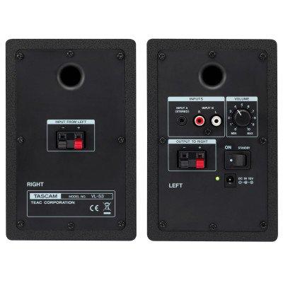 Tascam VL-S3 Coppia di casse monitor da Studio