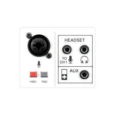 Yamaha AG03 Mixer USB 3 Canali con Interfaccia Audio