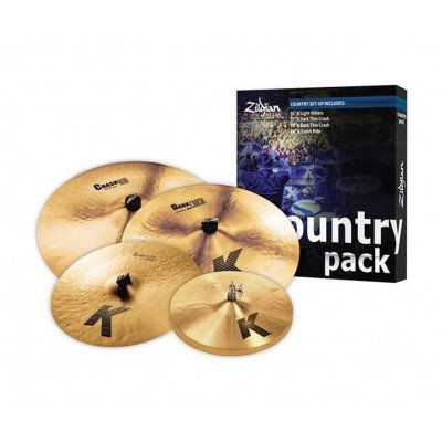 Piatti Set Country K Zildjian Ride + Hi-Hat+2 Crash